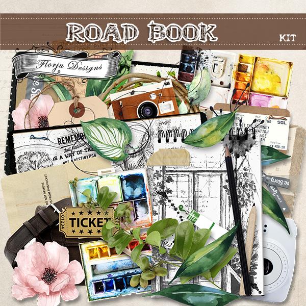 Road Book [ Kit PU ] by Florju Designs
