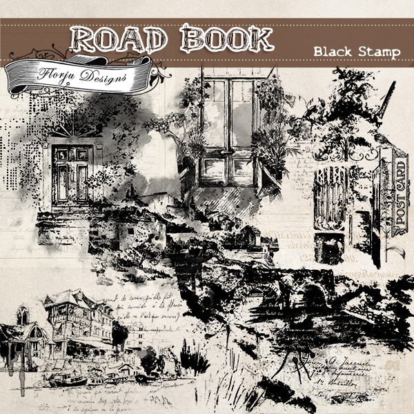 Road Book [ Stamps PU ] by Florju Designs