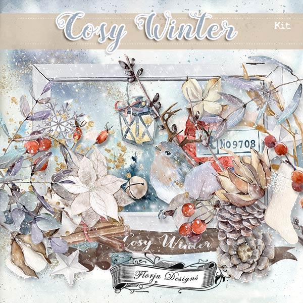 Cosy Winter { Kit PU } by Florju Designs