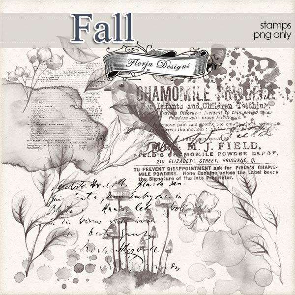Fall [ Stamps PU ] by Florju Designs