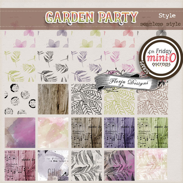 Garden Party { Photoshop Tools Style PU } by Florju Designs