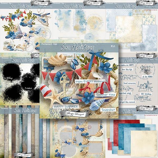 Sea Holidays { Bundle & FWP PU } by Florju Designs
