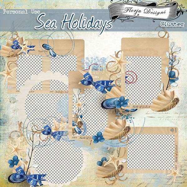 Sea Holidays { Clusters PU } by Florju Designs