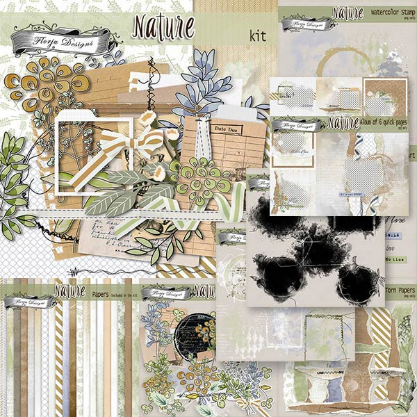 Nature [ Bundle PU ] by Florju Designs