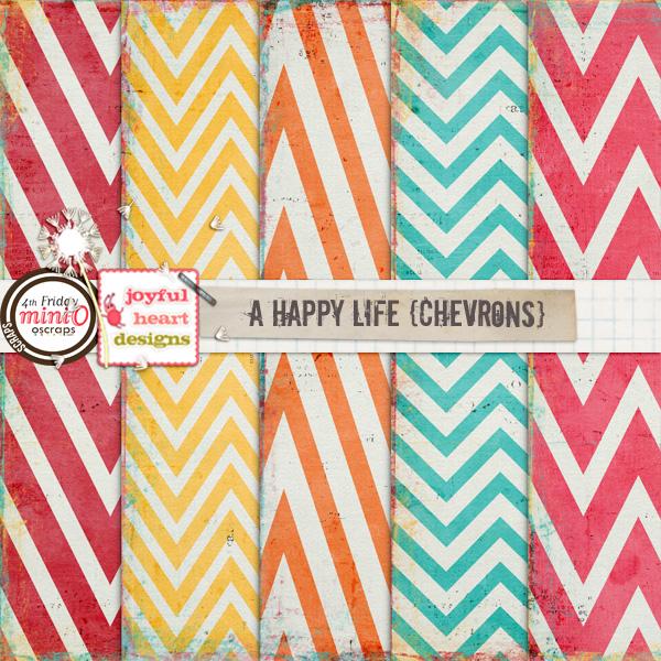 A Happy Life (chevrons)
