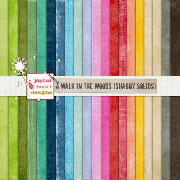 A Walk in the Woods (shabby solids)