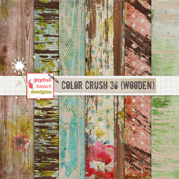Color Crush 36 (wooden)