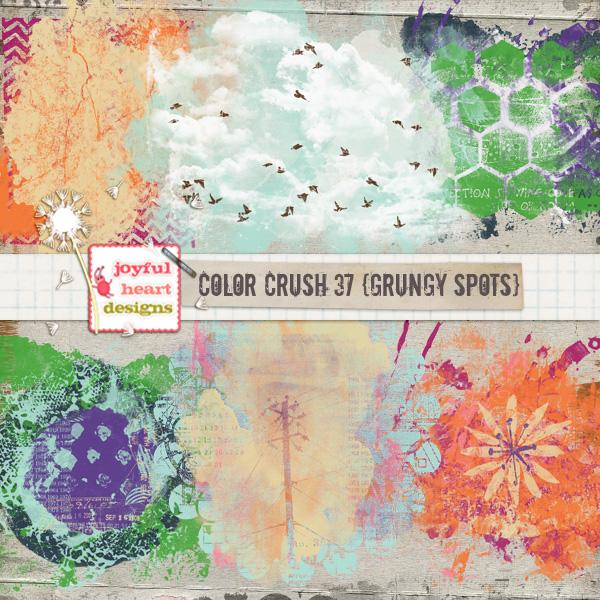 Color Crush 37 (grungy spots)