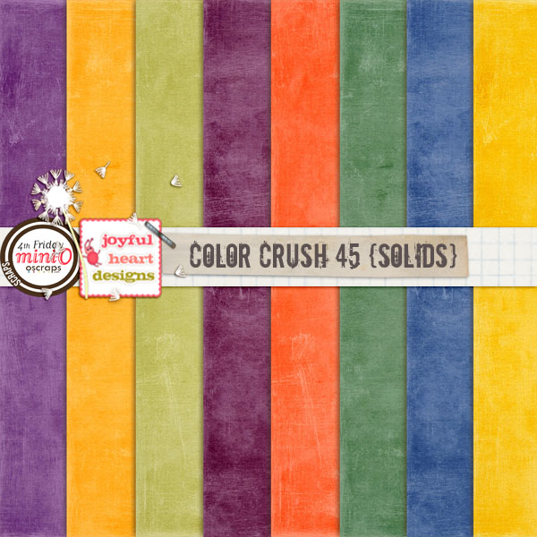 Color Crush 45 (solids)