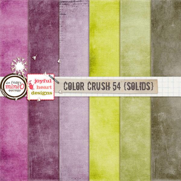 Color Crush 54 (solids)