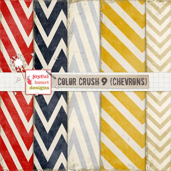 Color Crush 9 (chevrons)