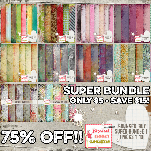 Grunged-Out Super Bundle (one)