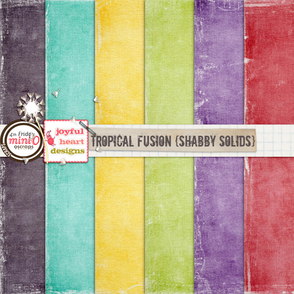 Tropical Fusion (shabby solids)