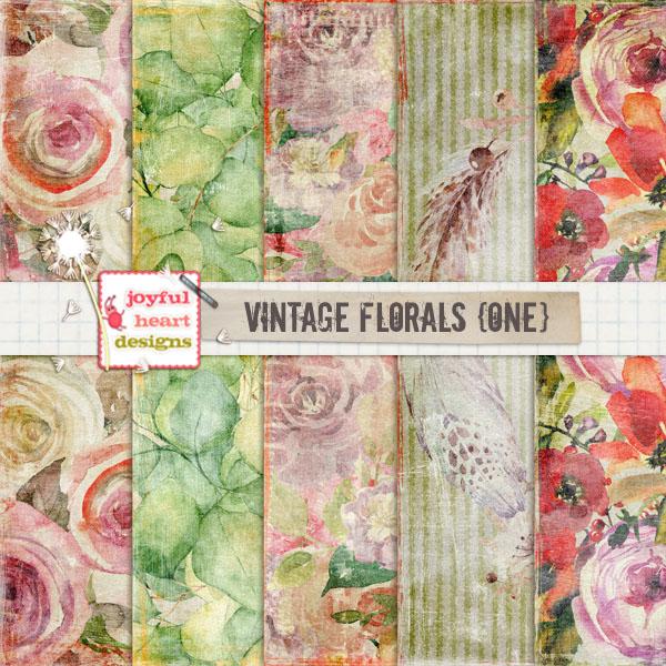 Vintage Florals (one)