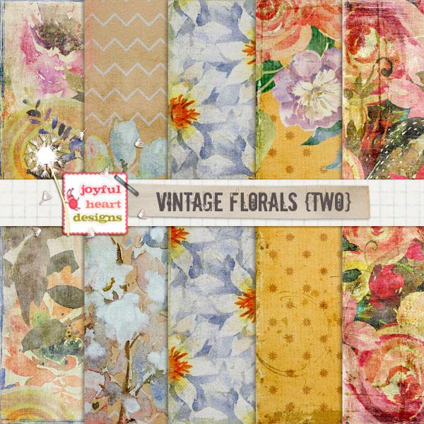 Vintage Florals (two)