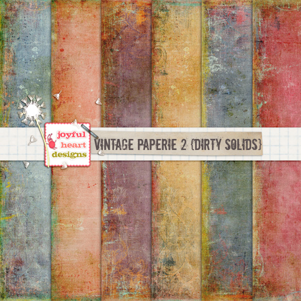 Vintage Paperie 2 (dirty solids)