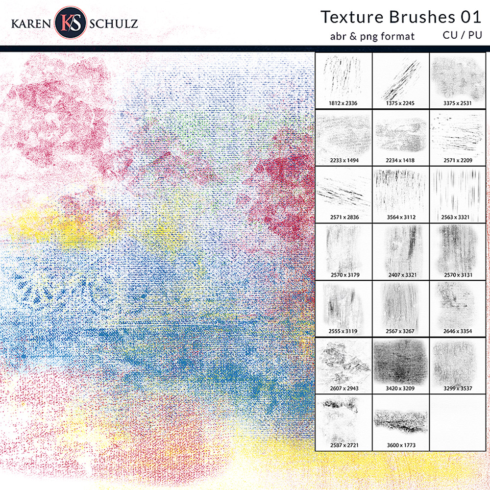 Texture Brushes 01