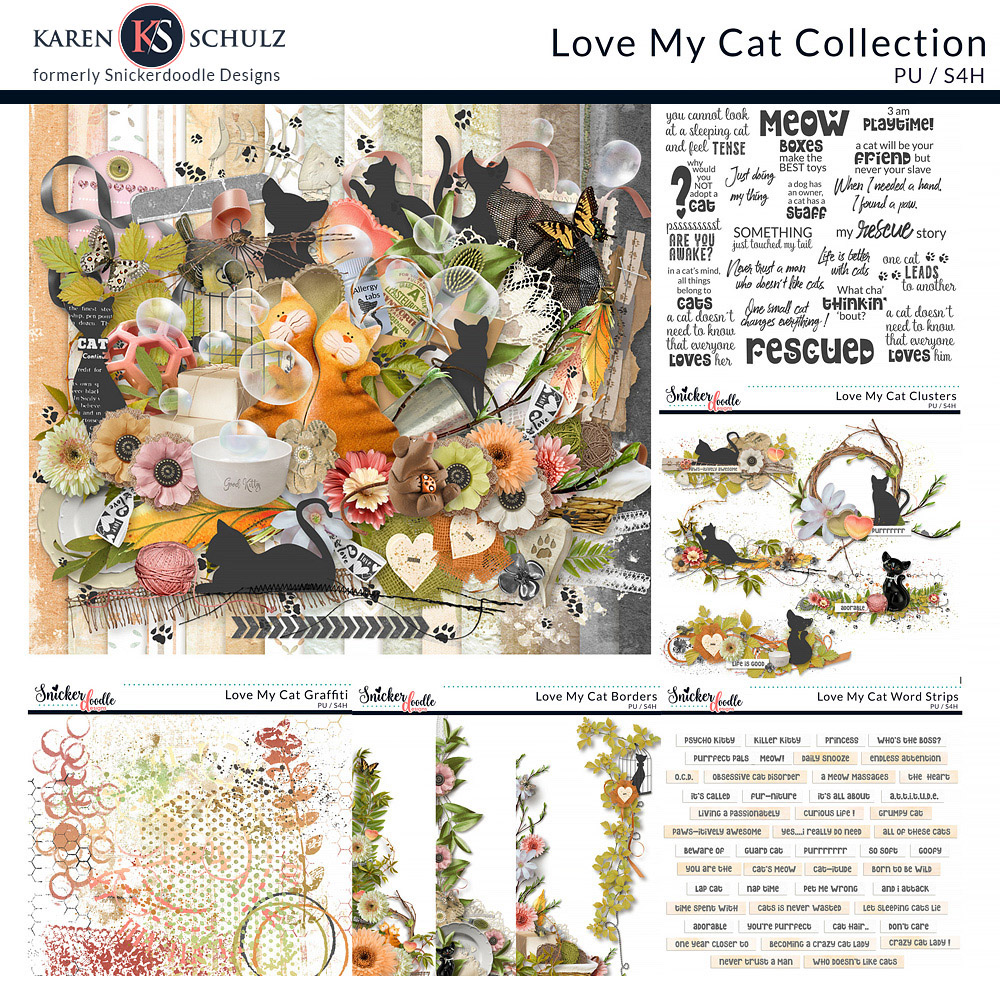 Love My Cat Collection