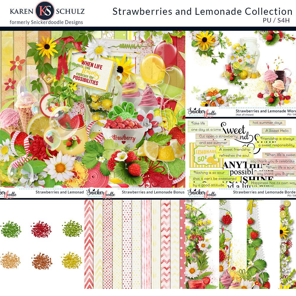 Strawberry Lemonade Collection
