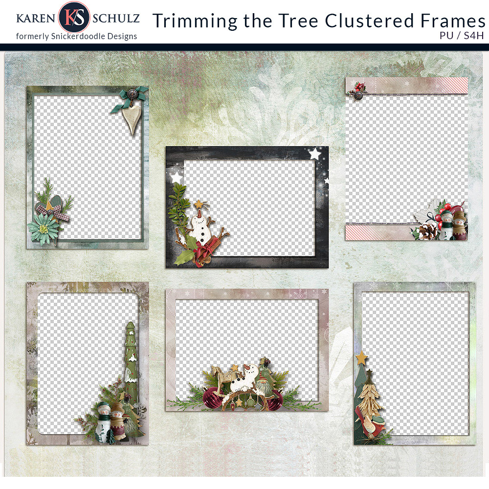 Trimming the Tree Clustered Frames