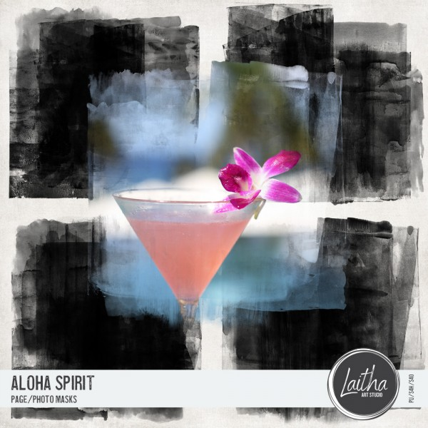 Aloha Spirit - Page/Photo Masks