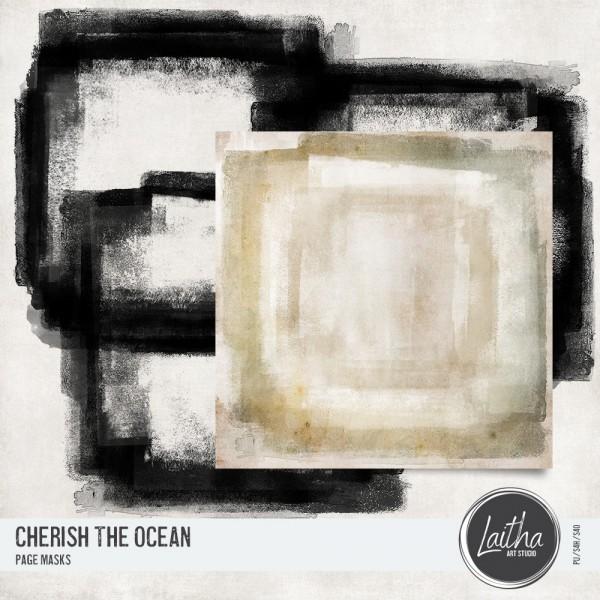 Cherish The Ocean - Page Masks