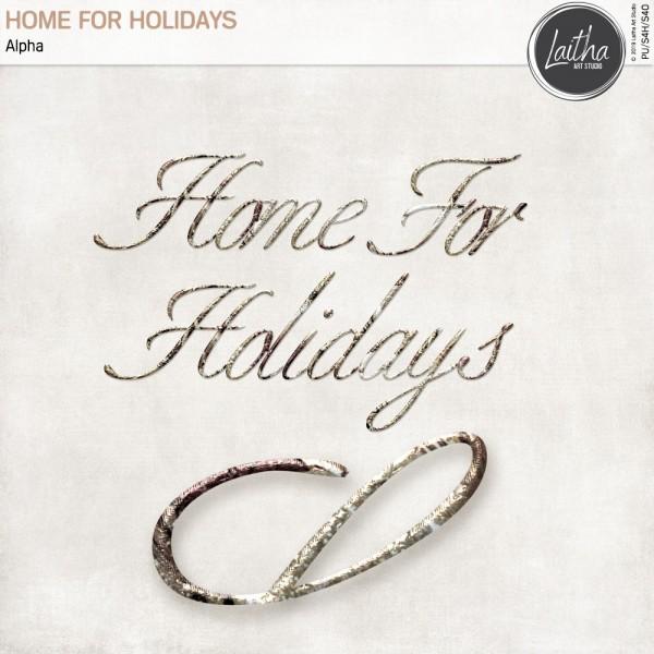 Home For Holidays - Alpha