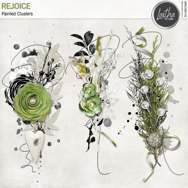 Rejoice - Painted Clusters