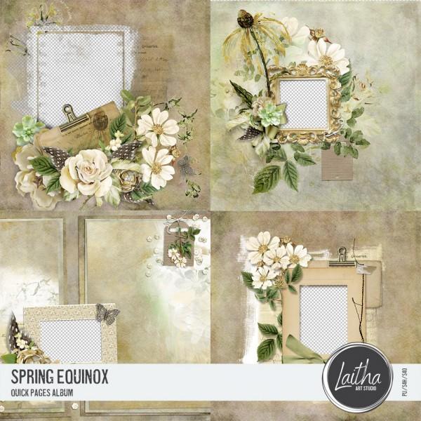 Spring Equinox - Quick Pages Album