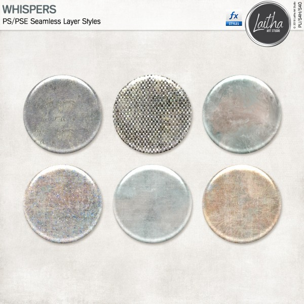 Whispers - Layer Styles