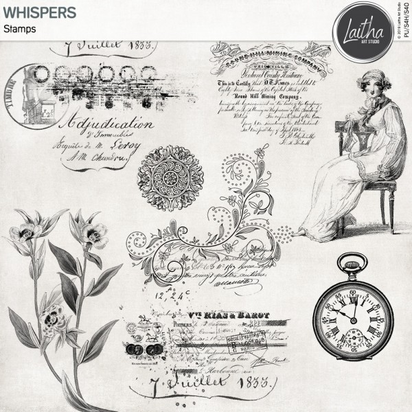 Whispers - Stamps
