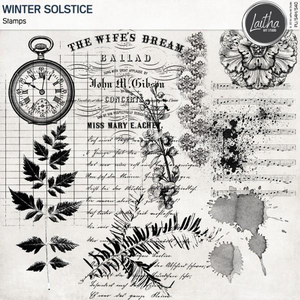 Winter Solstice - Stamps