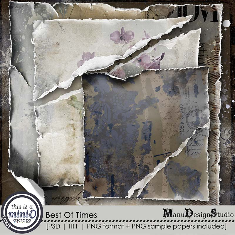 Best Of Times - Torn Papers