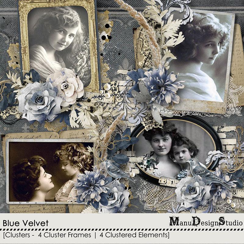 Blue Velvet - Clusters