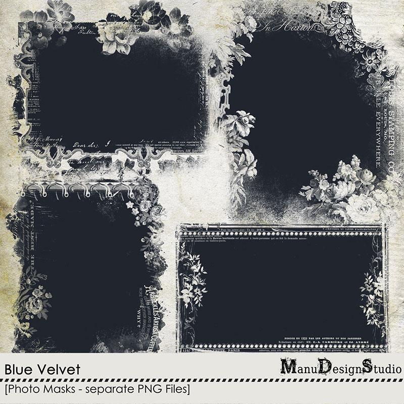 Blue Velvet - Photo Masks