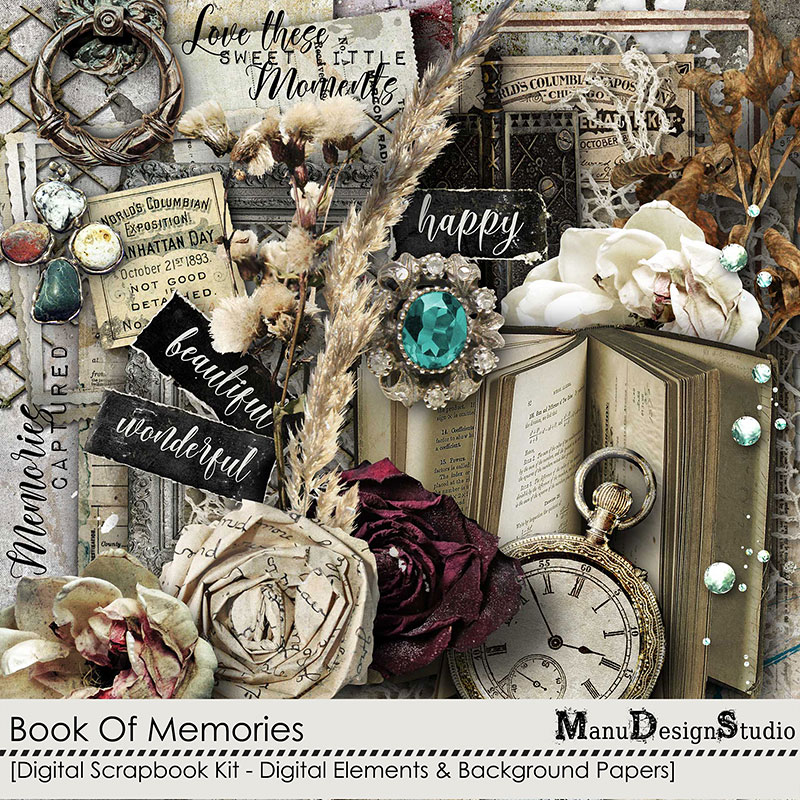Book Of Memories - Kit