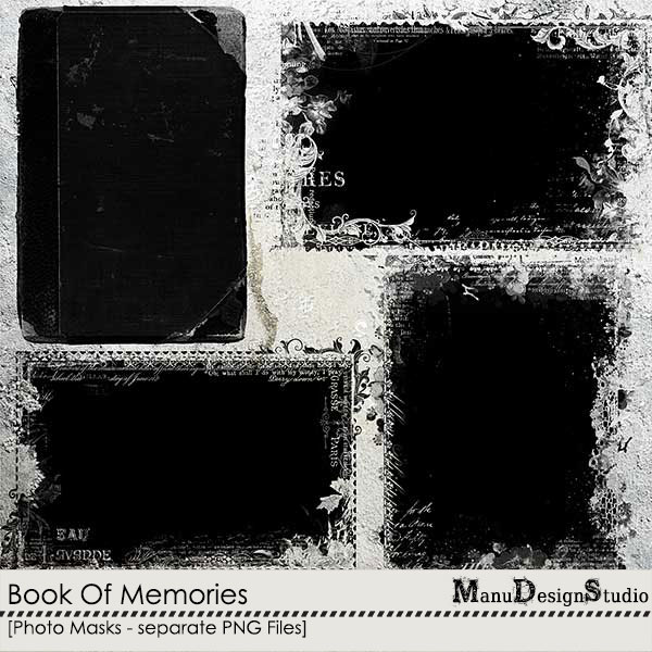 Book Of Memories - Photo Masks