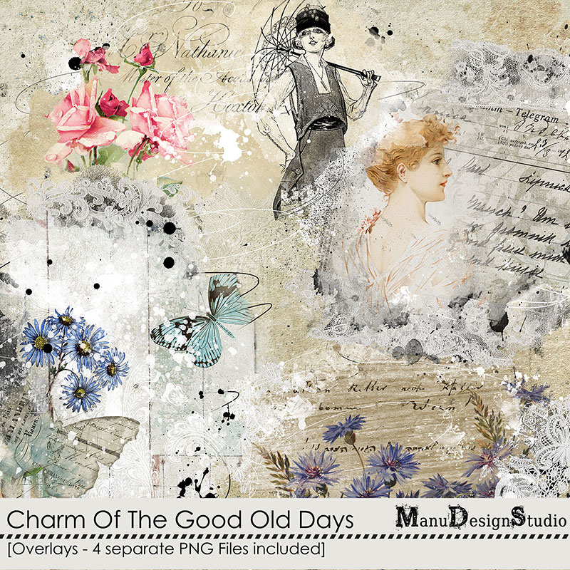 Charm Of The Good Old Days - Overlays