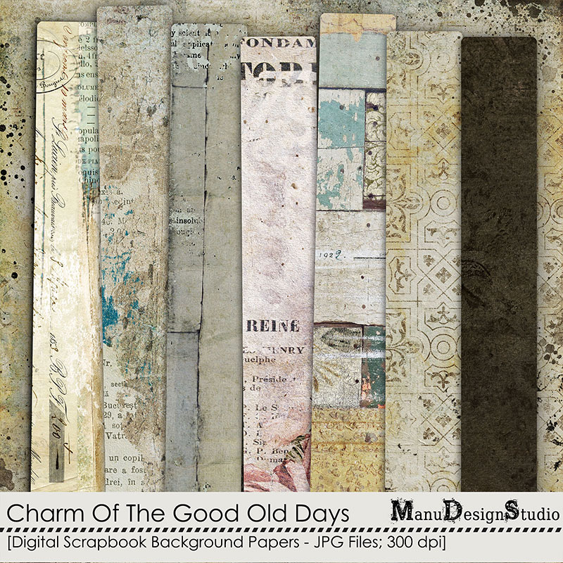 Charm Of The Good Old Days - Papers