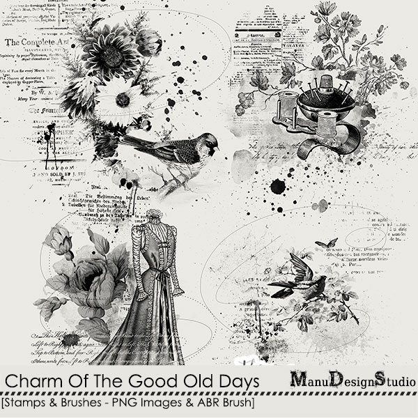 Charm Of The Good Old Days - Stamps