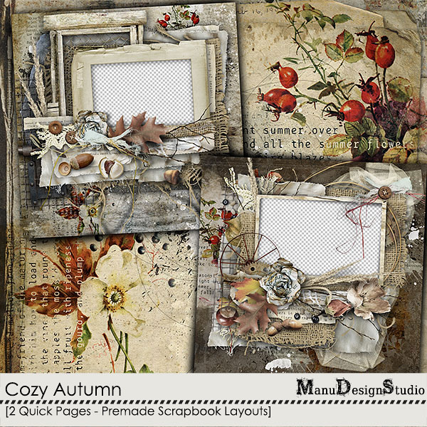 Cozy Autumn - Quick Pages