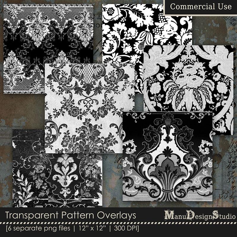 CU - Transparent Pattern Overlays