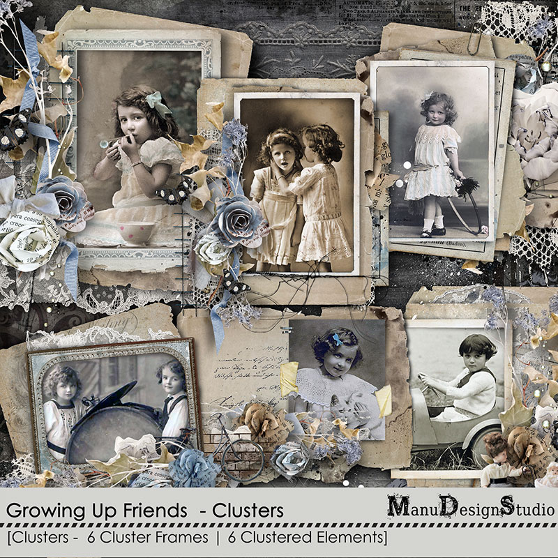 Growing Up Friends - Clusters