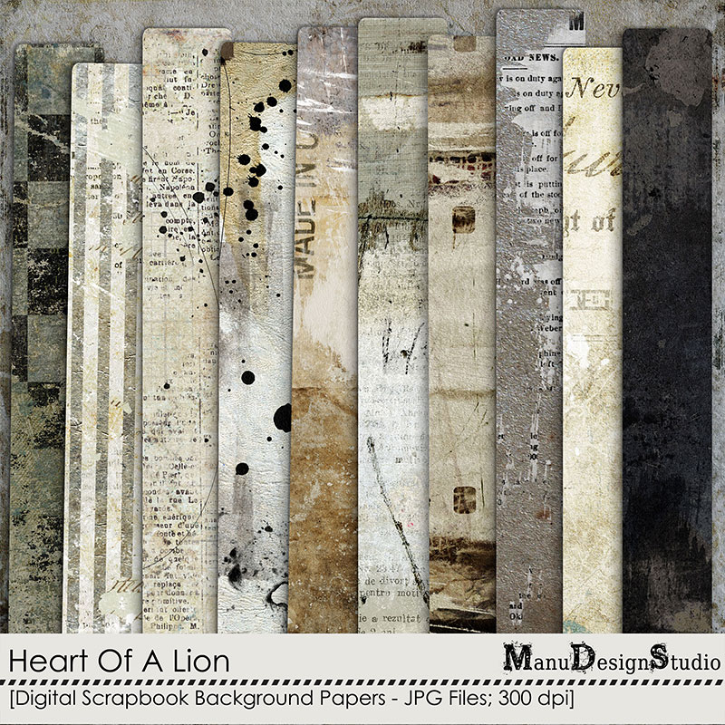 Heart Of A Lion - Papers