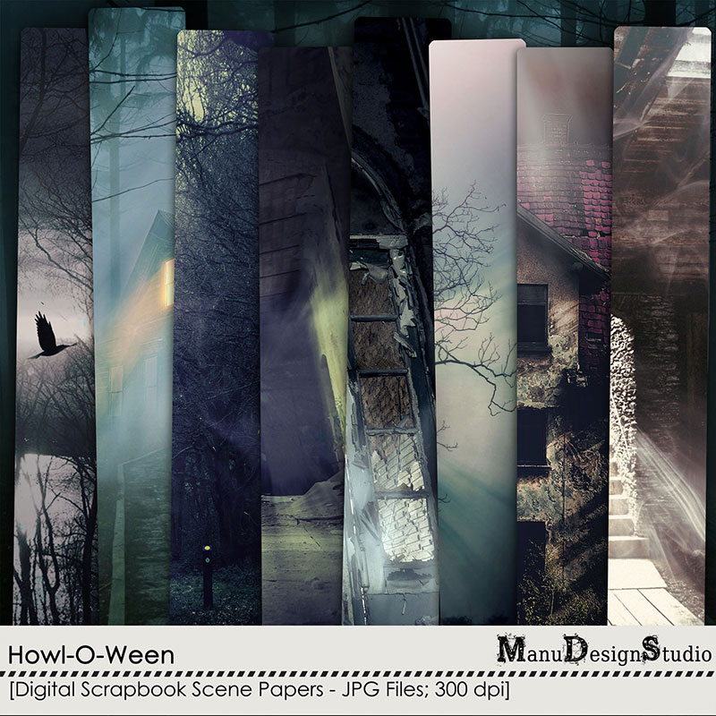 Howl-O-Ween - Scene Papers