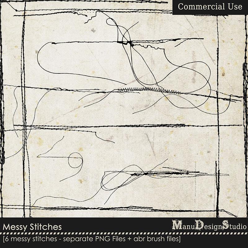 Messy Stitches - CU