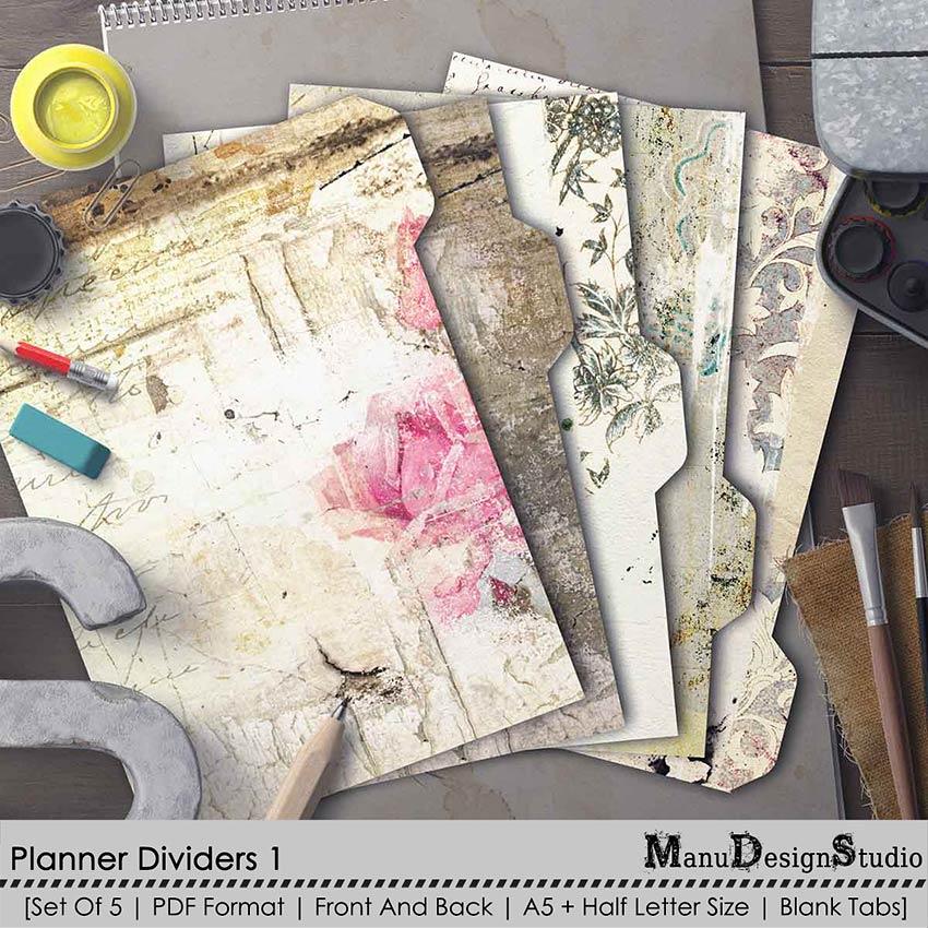 Planner Dividers 01