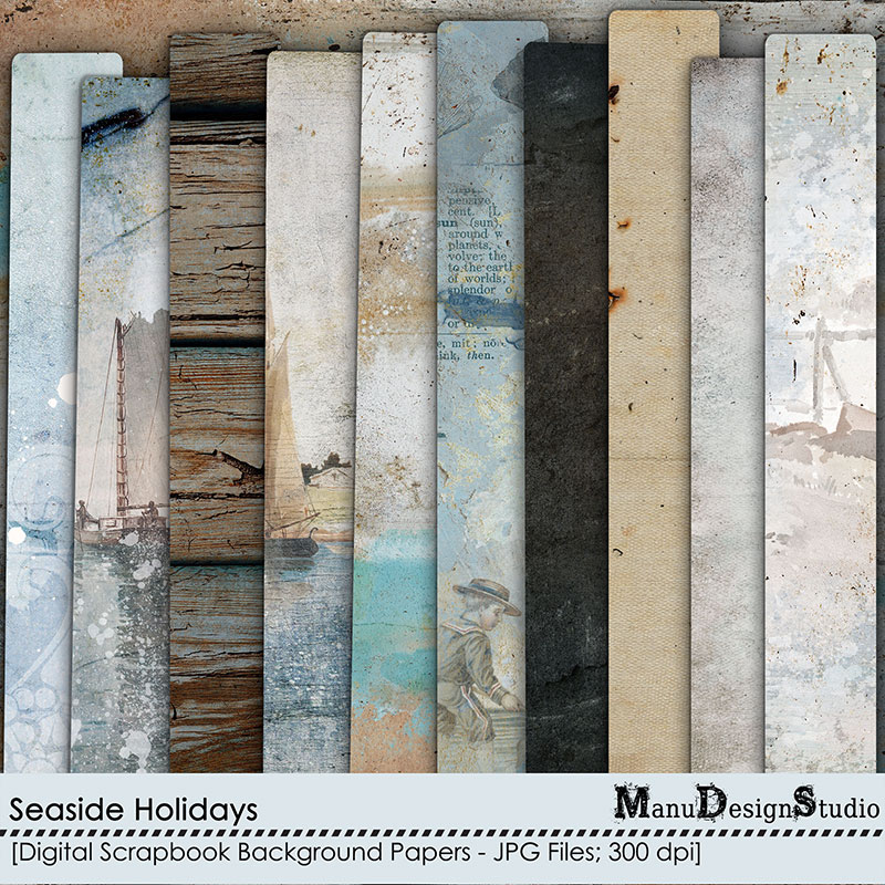 Seaside Holidays - Papers