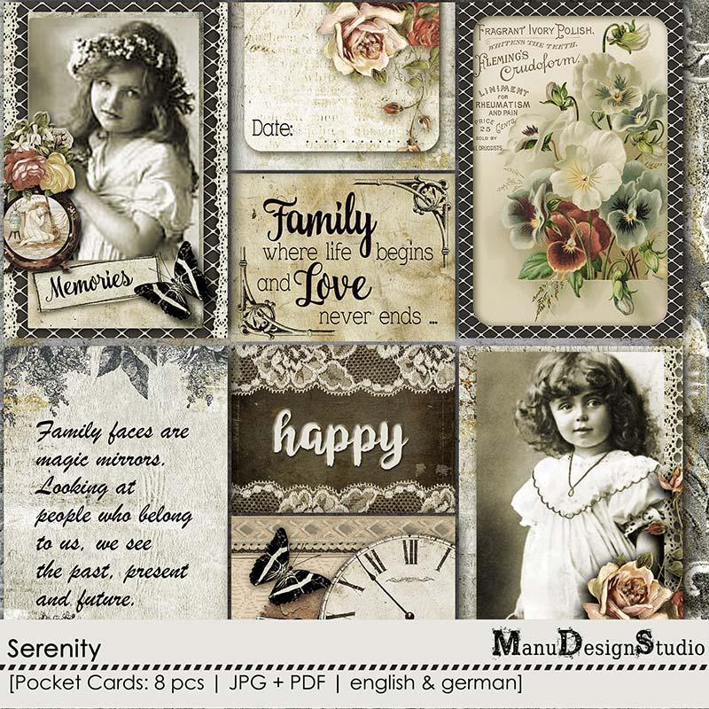 Serenity - Pocket Cards