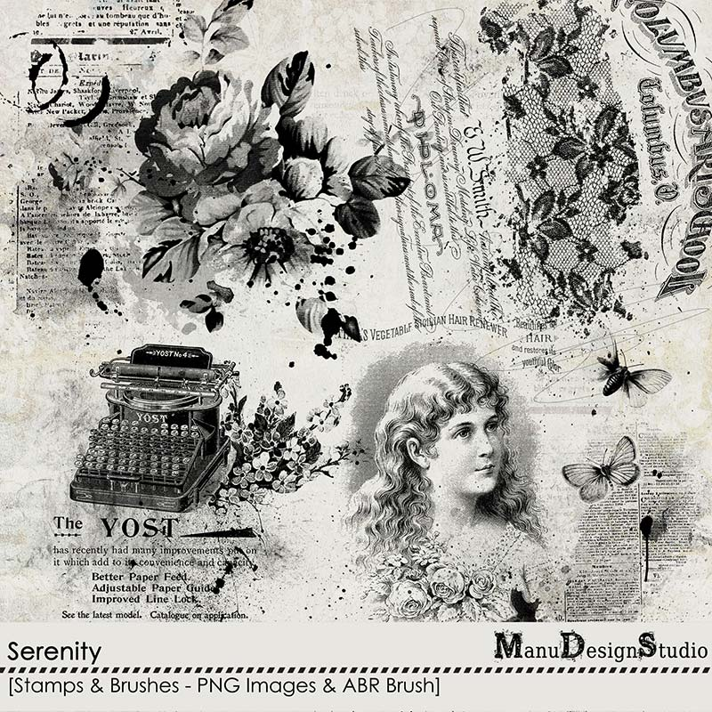 Serenity - Stamps